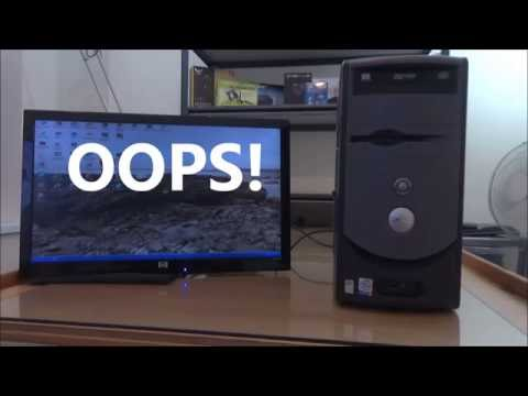 How to: Cleaning and repair of a bootlooping Windows XP Dell PC