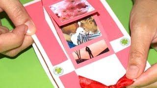 Manualidades para regalo. Hoy te traemos esta tarjeta en cascada, es muy bonita y se ajusta a diferentes tipos de estilo para regalar  y quedar bien. Te esperamos con más ideas para regalos en http://hazregalos.blogspot.com el blog de http://hazregalos.com, tu tienda de regalos personalizados online.  Intro y edicion: Tocando voy http://www.youtube.com/user/TocandoVoy