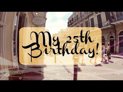 Celebrating My Birthday In New Orleans!