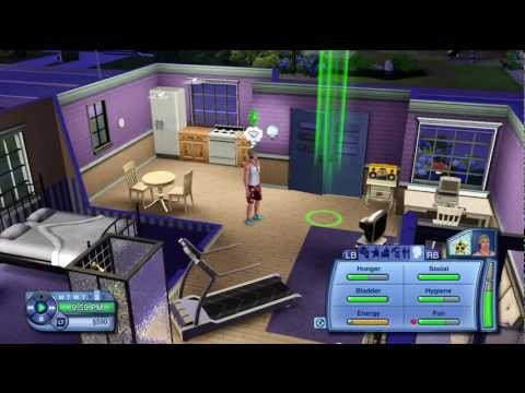 The Sims 3 XBOX 360 Gameplay / Lets play part 8 (HD) - Getting a Girlfriend