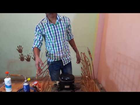 how to make refrigeration system at home HVAC