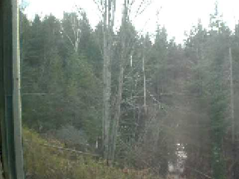 Last Train Arriving in Lake Placid for 2008
