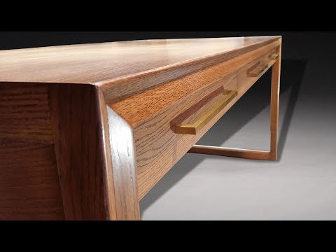 Building a Mid Century Modern Desk
