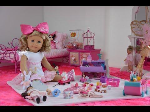 American Girl Doll Poppy's Bedroom ~ Watch in HD!