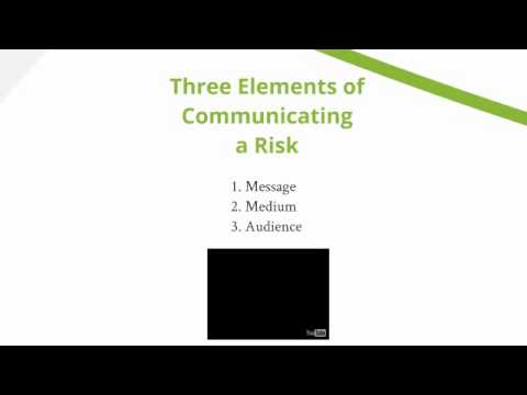 Introduction to risk and crisis communication