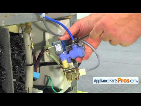 Refrigerator Water Inlet Valve (part #DA74-40150H) - How To Replace