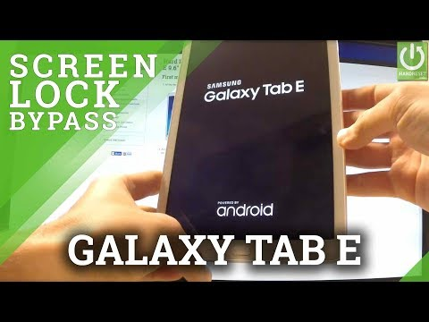 Hard Reset SAMSUNG T561 Galaxy Tab E 9.6
