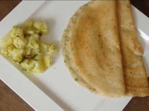 फराली मसाला  दोसा /farali masala dosa in hindi / navratri special vrat recipe / hunger timeout