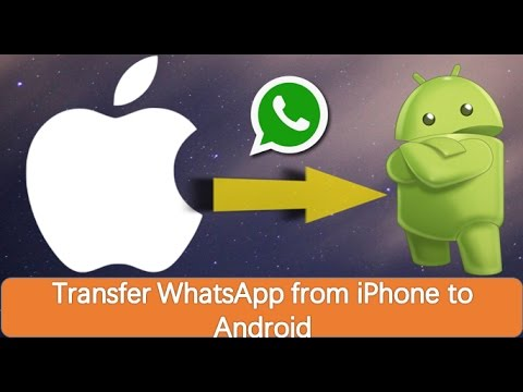 How to transfer whatsapp messages and chats from iphone to android