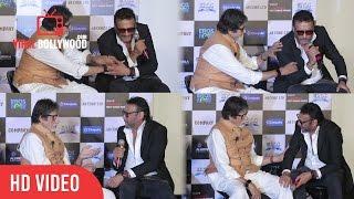 Best Of Jackie Shroff (Bidhu) And Amitabh Bachchan | Funny Conversation | Sarkar 3 Trailer Launch