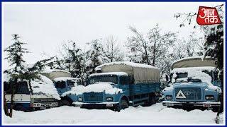 Heavy Snowfall In Badrinath And Hemkund - Char Dham