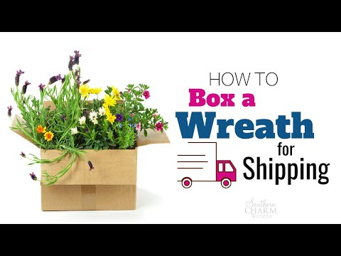 How to Box A Wreath For Shipping