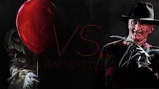 Pennywise VS Freddy Krueger Rap Battle EPIC! (IT VS Nightmare on Elmstreet) ►Daddyphatsnaps