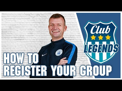 How to Register Your Group