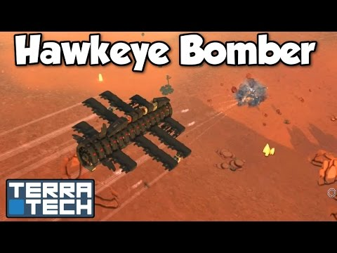 Hawkeye Bomber! - Terratech [Ep.11] - Let's Play TerraTech Update v0.7