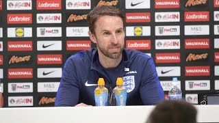 Press Conference With England Manager Gareth Southgate Ahead Of Lithuania Clash