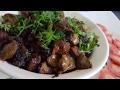 Kaleji, Pota fry (Chicken liver & Gizzard fry)