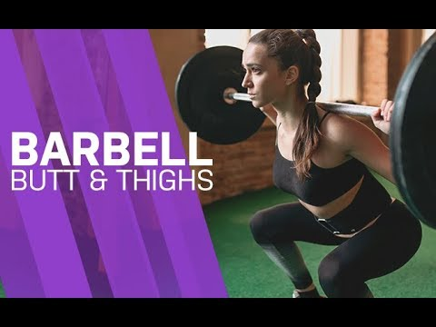 Barbell Butt and Thighs Workout (FULL LEGS AND GLUTES ROUTINE!!)