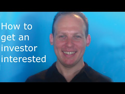 How to get an investor interested in a business plan and invest