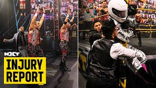 The fallout from Legado del Fantasma's brutal attack: NXT Injury Report, March 5, 2021