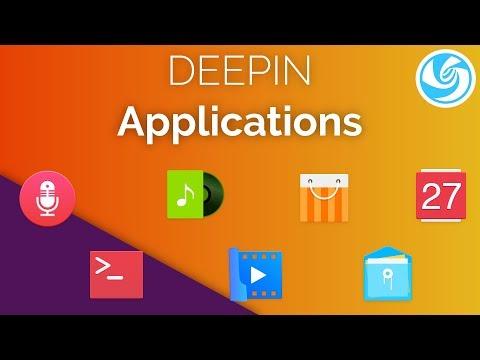 Deepin Linux - Default Applications