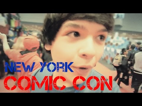 New York ComicCon Vlog 2014
