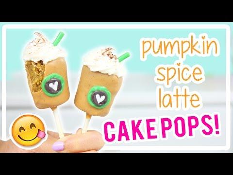 How to Make Pumpkin Spice Latte Cake Pops!