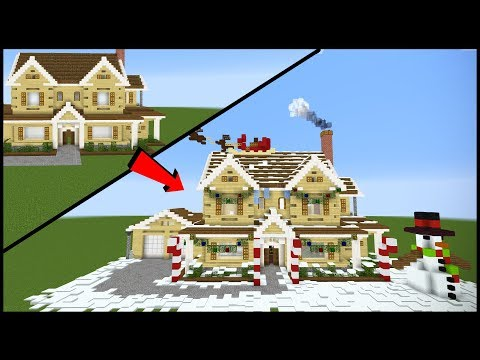 12 Ways To Make Your Minecraft House More Festive!