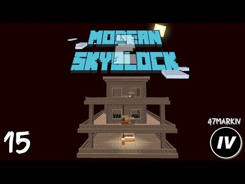 Modern Skyblock 2 - Ep 15 Nether Mob Farm