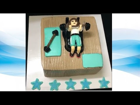 How to create Gym cake  42HD