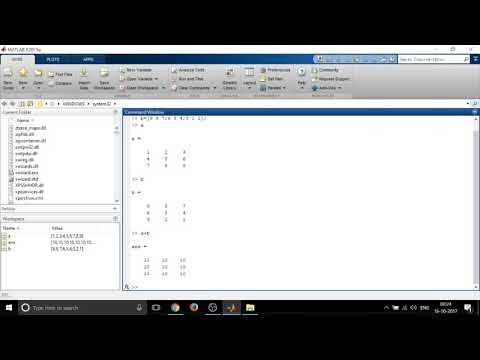 ANNA UNIVERSITY SIMULATION LAB-MATLAB: Matrices (Addition, Subtraction, Transpose and Inverse)