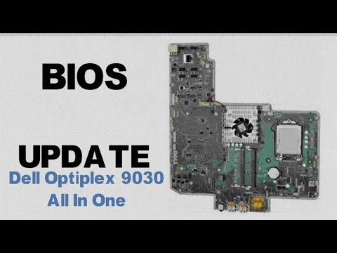 How to Update a Dell Motherboard's Bios || Optiplex 9030 AIO || Enable Virtualization
