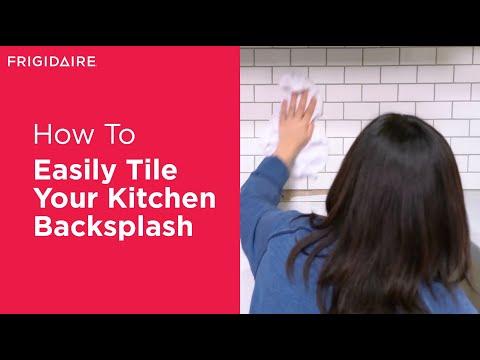 How to Tile Your Kitchen Backsplash in 5 Steps