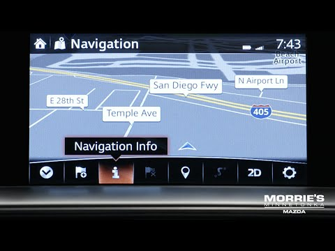 How To Use The Mazda Connect Navigation System | Mazda How To