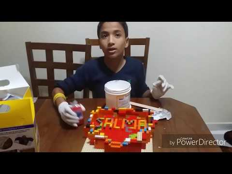 How to make Lego candy mold - Heart shape
