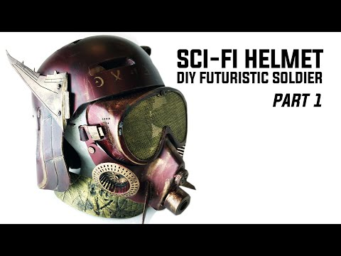 How To Make A Sci-Fi Trooper Helmet: Easy Prop Making Tutorial