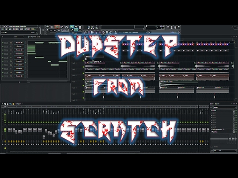 Making Dubstep From Scratch - 1000 Subscriber Livestream #1