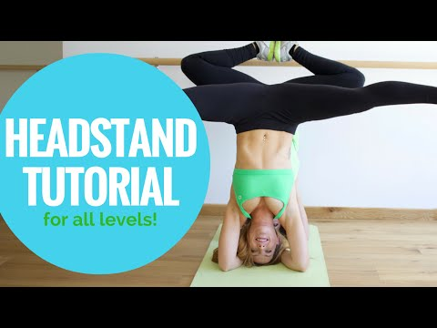 Headstand Tutorial | How to Headstand Safely & Build Core Strength