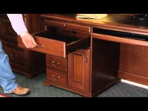 Compact Bridgeton Desk and Hutch