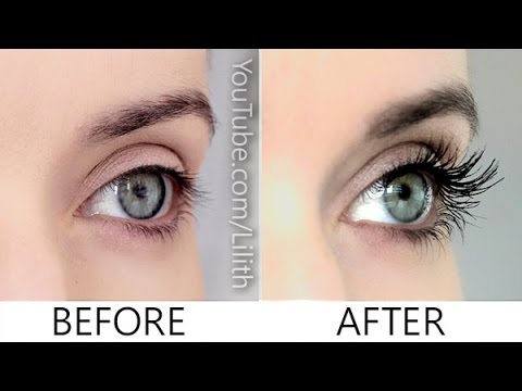 How to grow lashes naturally ✿ DIY for longer, thicker, fuller eyelashes
