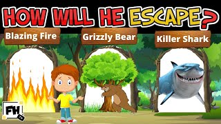 6 Escape Mystery Riddles   Can You Solve It? Brain Break