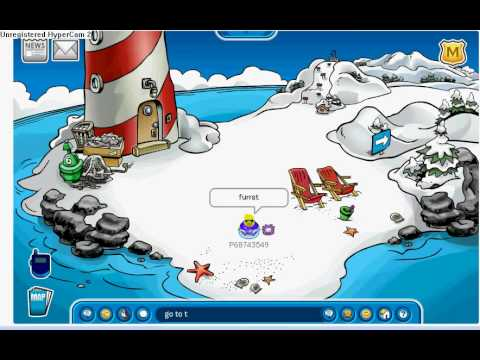 club penguin how to find rockhopper for real