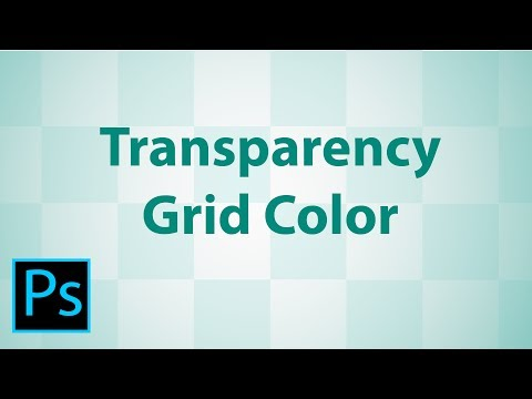 How to Change the Transparency Grid Color in Adobe Photoshop