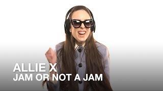 Allie X plays Jam or Not a Jam