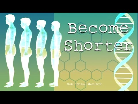 Get Shorter / Height Reduction -- Subliminals Frequencies Hypnosis RIfe Potion