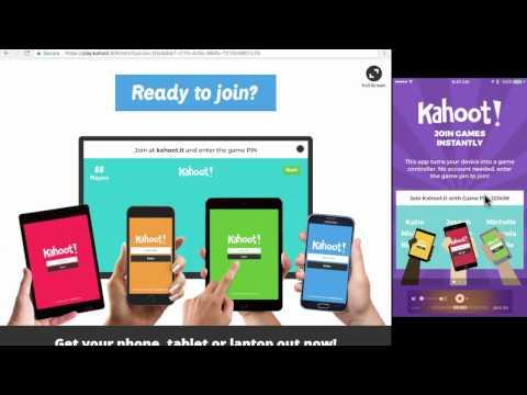 Kahoot 2017 Tutorial - student clicker alternative Kahoot!