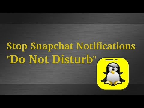 Disable SnapChat Notifications For Individual Friends