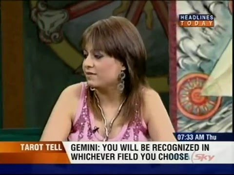 Sheela Bajaj Tarot and Numerology show on Headlines Today