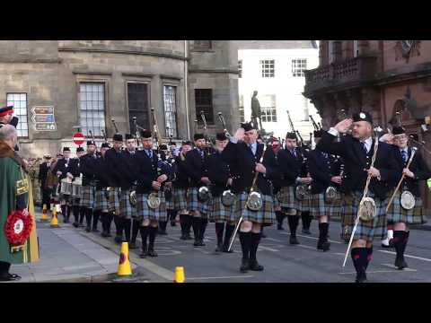 Stirling Remembrance Sunday, 2017.