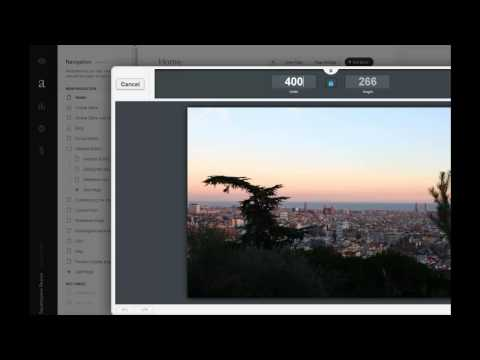Squarespace: how to resize an image